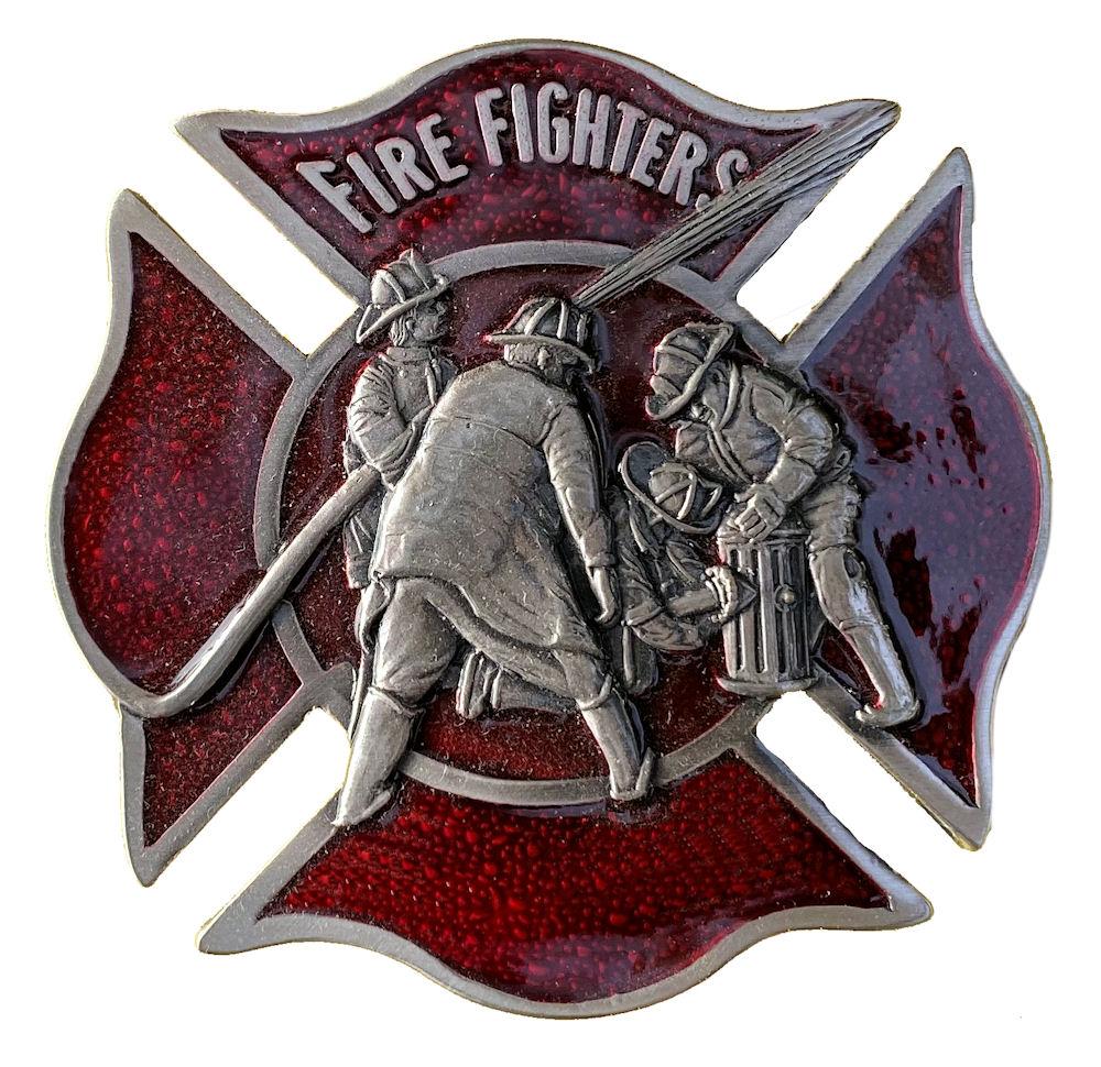 Fire Fighters Belt Buckle