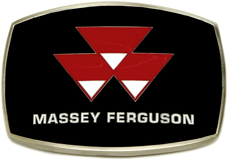 Massey Ferguson Logo Belt Buckle