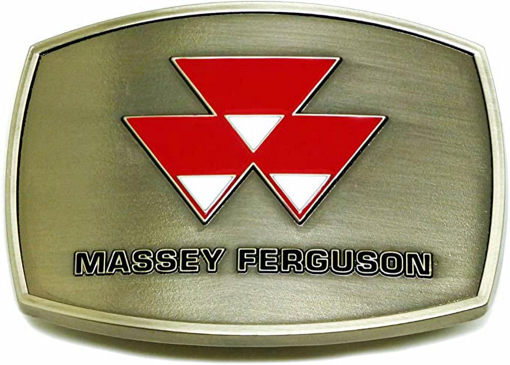 Massey Ferguson Polished Belt Buckle