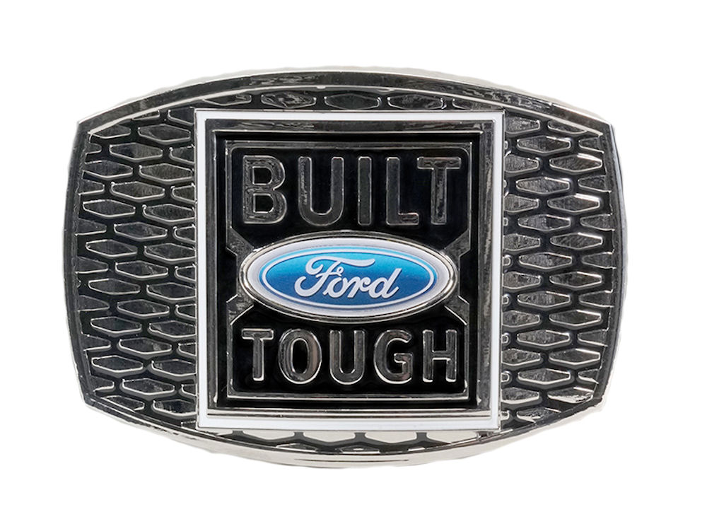 Built Ford Tough Belt Buckle