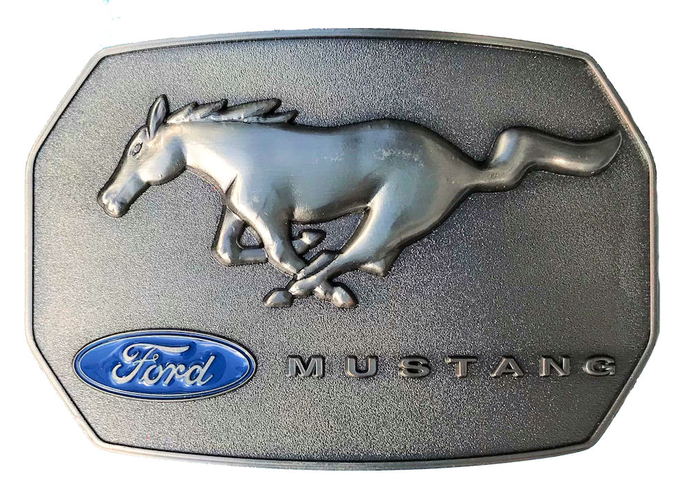 Ford Mustang Pony & Logo