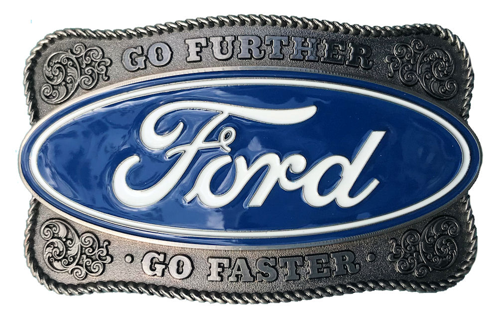 Ford Western Belt Buckle