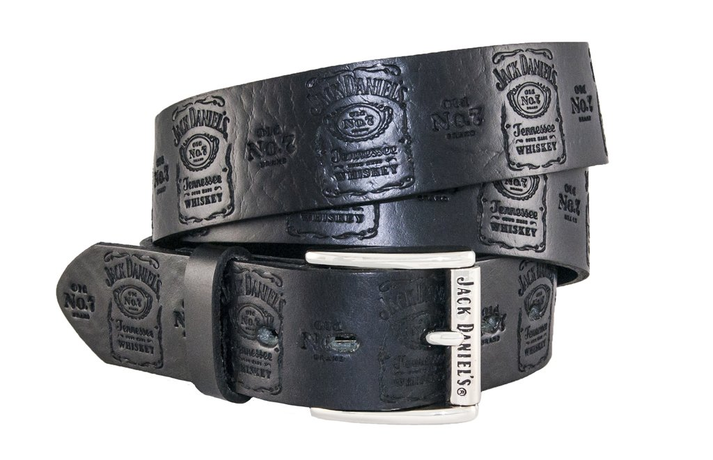 Jack Daniels Leather Belt