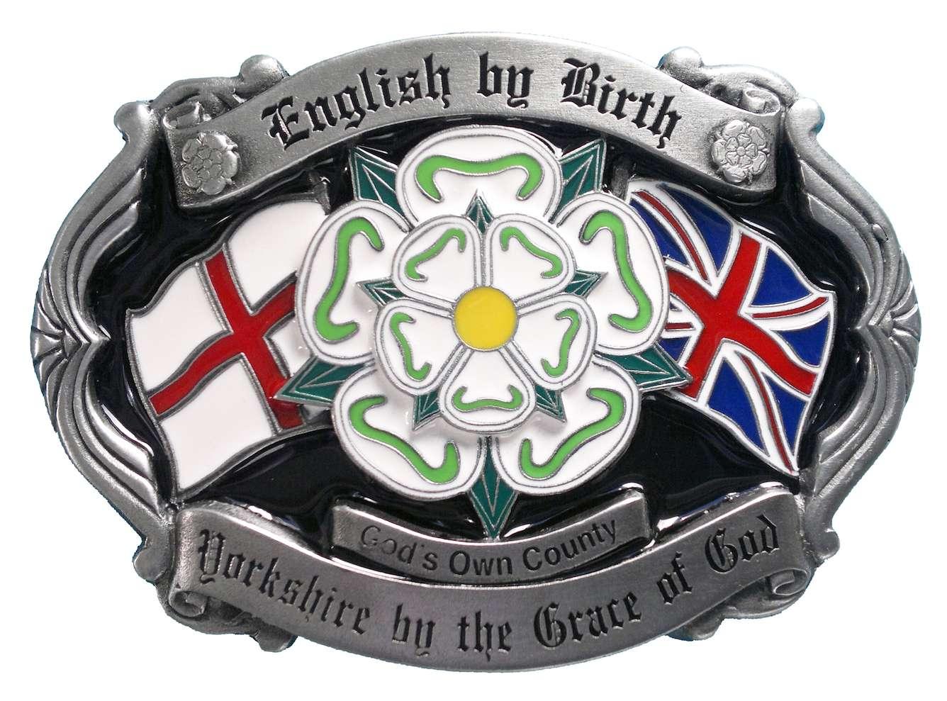 Yorkshire Rose Belt Buckle