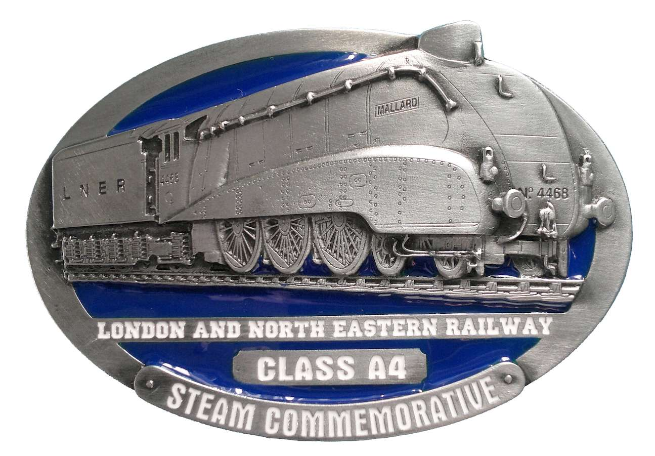 L.N.E.R. A4 Steam Train Belt Buckle