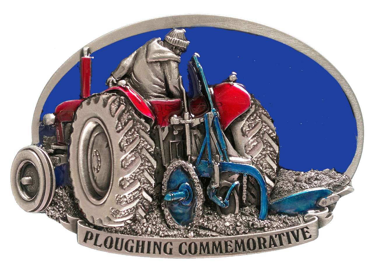Ploughing Commemorative Belt Buckle