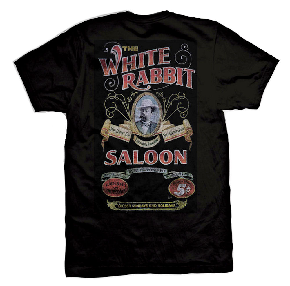 Jack Daniels White Rabbit T-Shirt