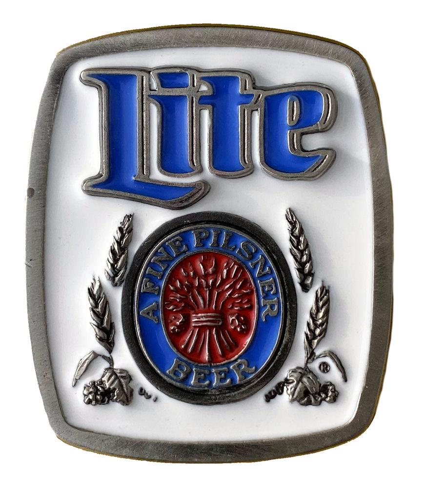 Miller Lite Belt Buckle