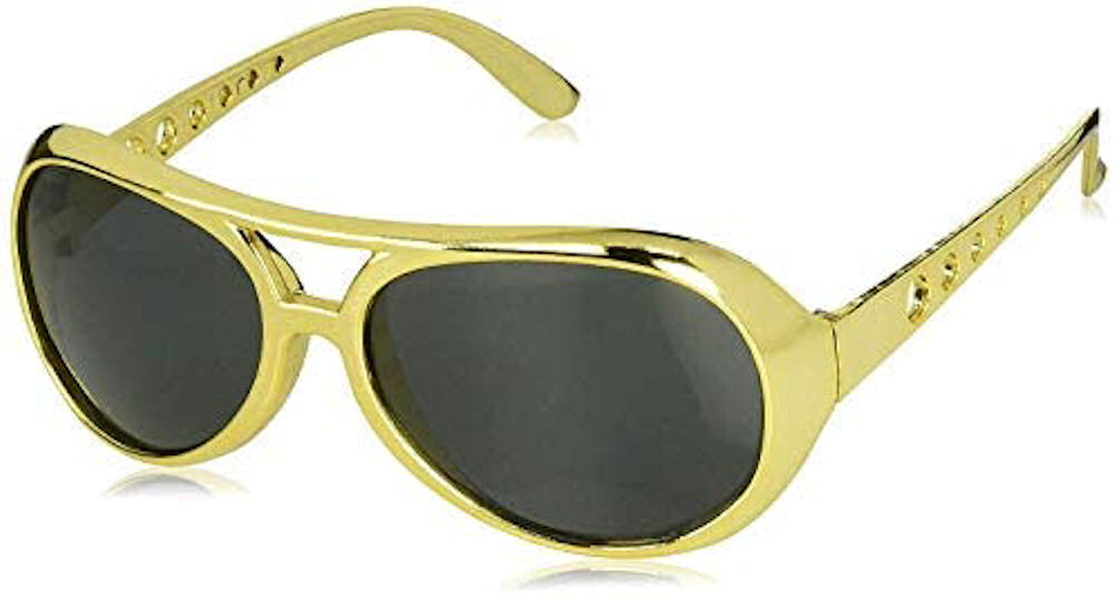 Elvis Gold Sunglasses