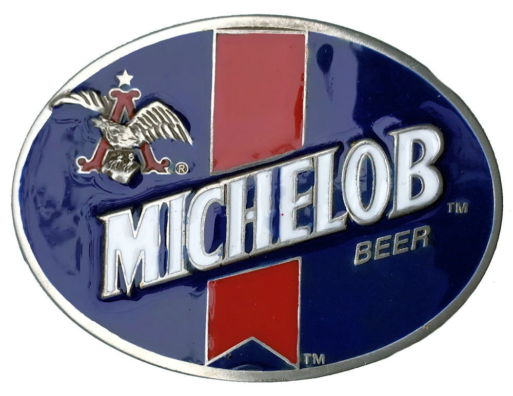 Budweiser Michelob Beer Blue