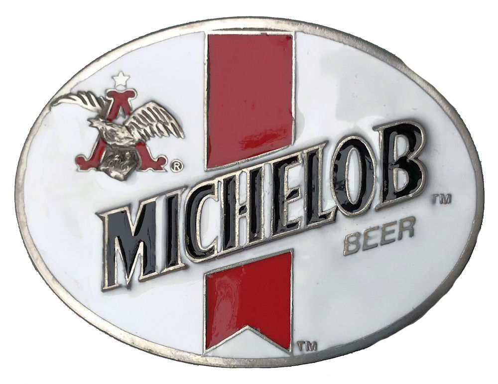 Budweiser Michelob Beer White