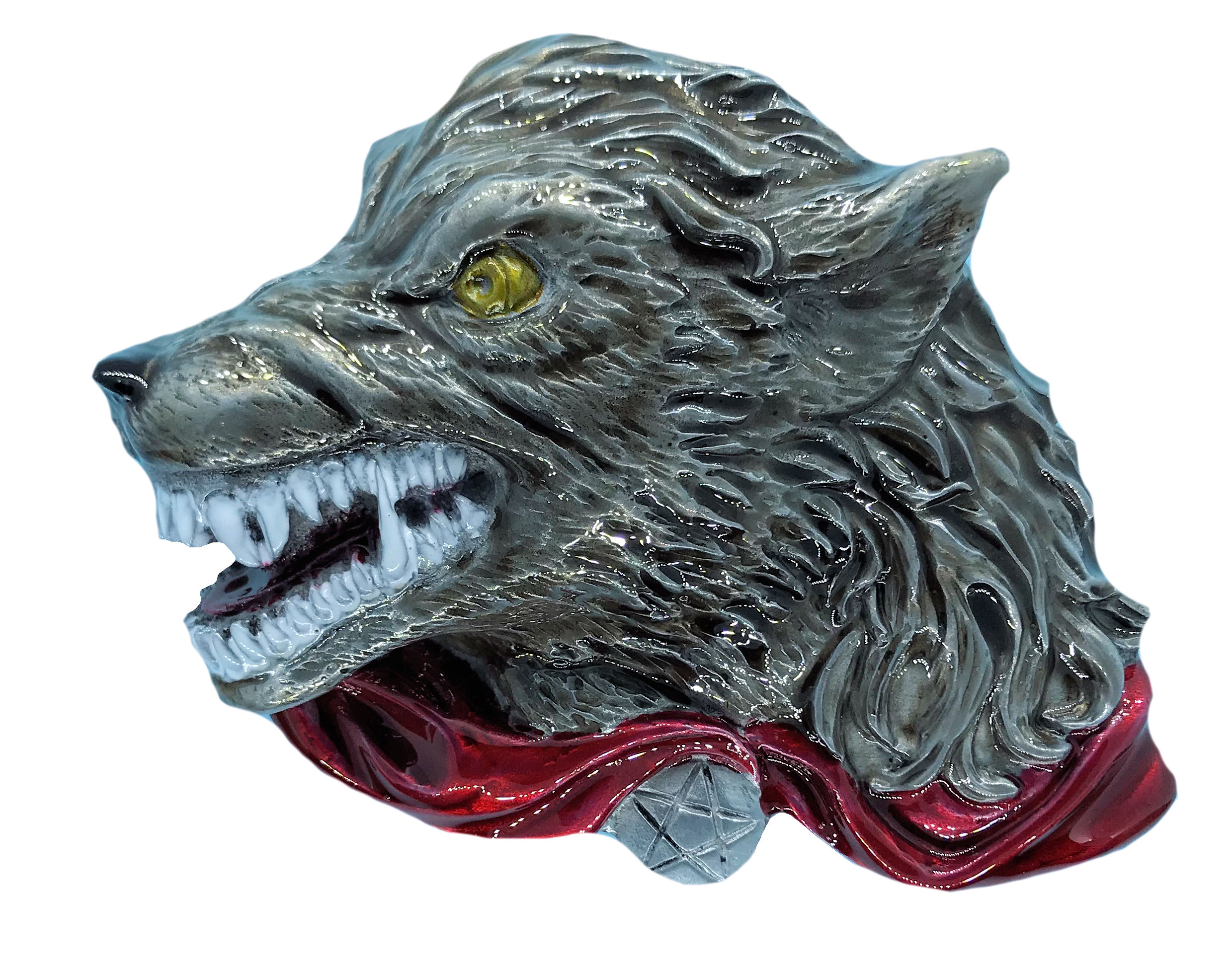 Celtic Wolf Head