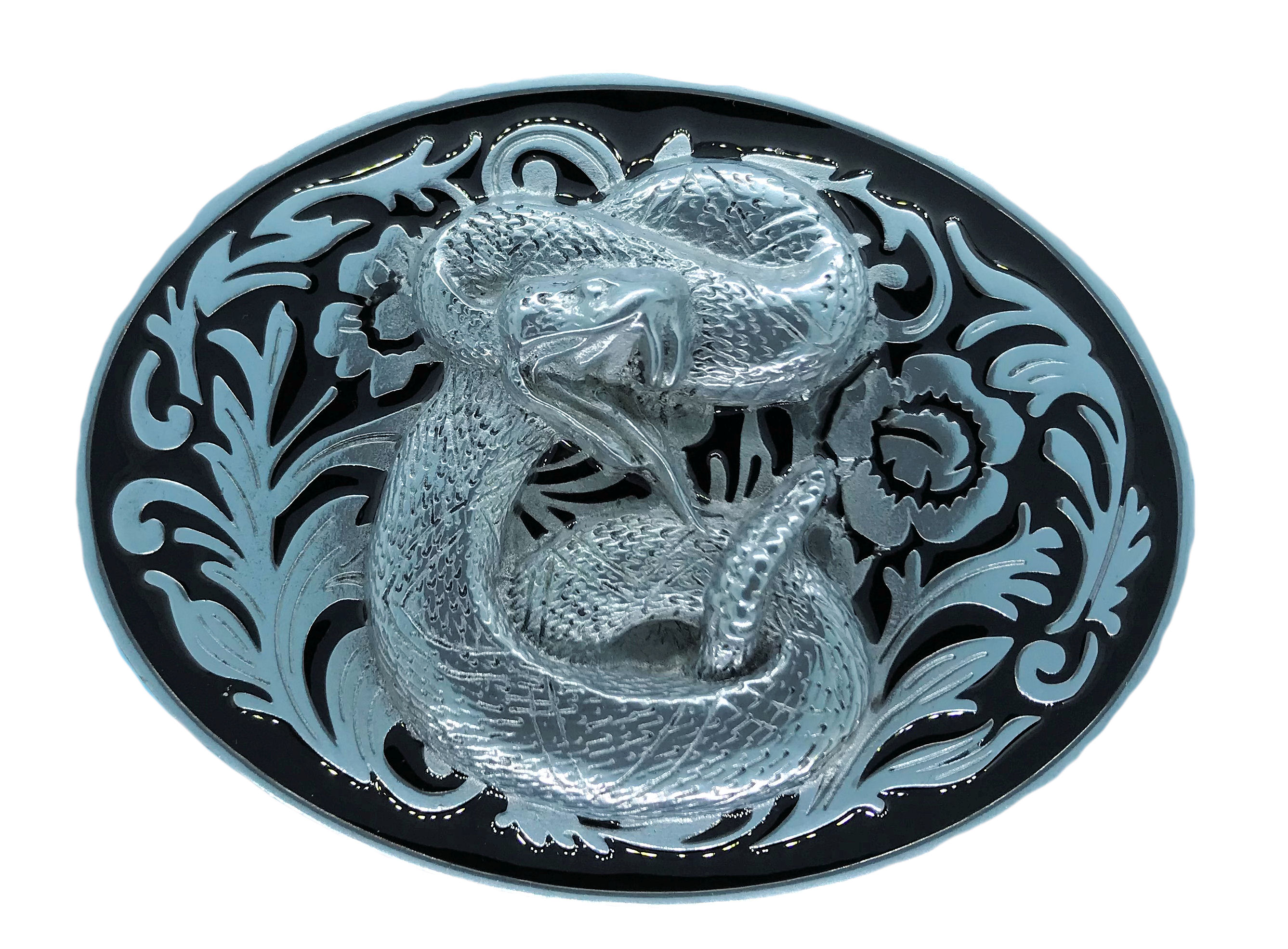 Rodeo Rattle Snake Black