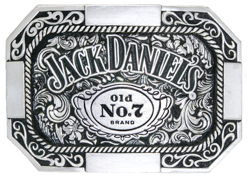 Jack Daniels Old No.7 Octagon Buckle