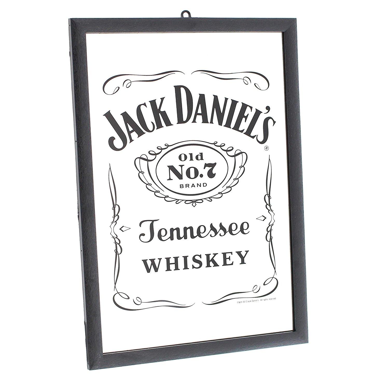 Jack Daniels Reverse Label Mirror