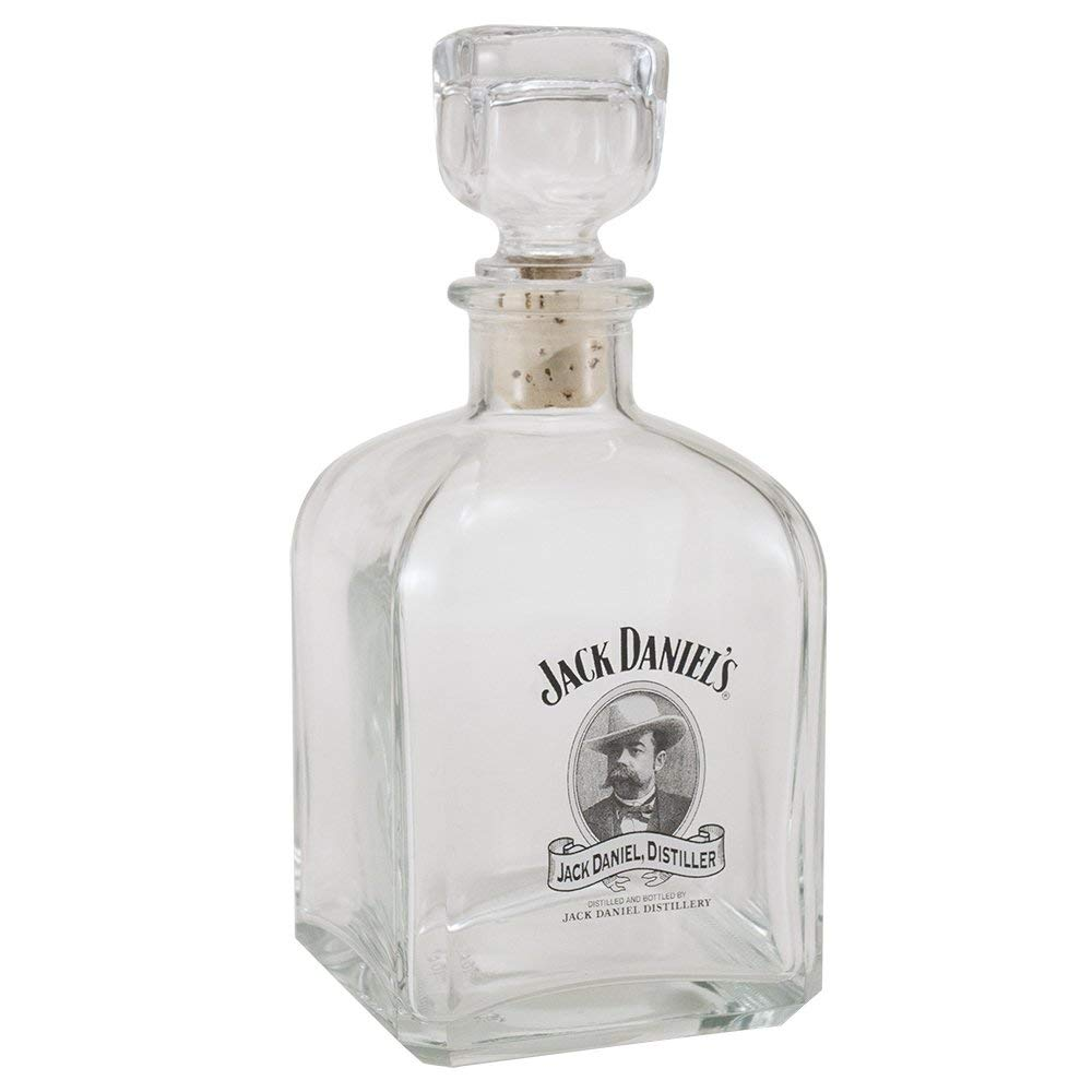 Jack Daniels Licensed Barware Cameo Logo Decanter