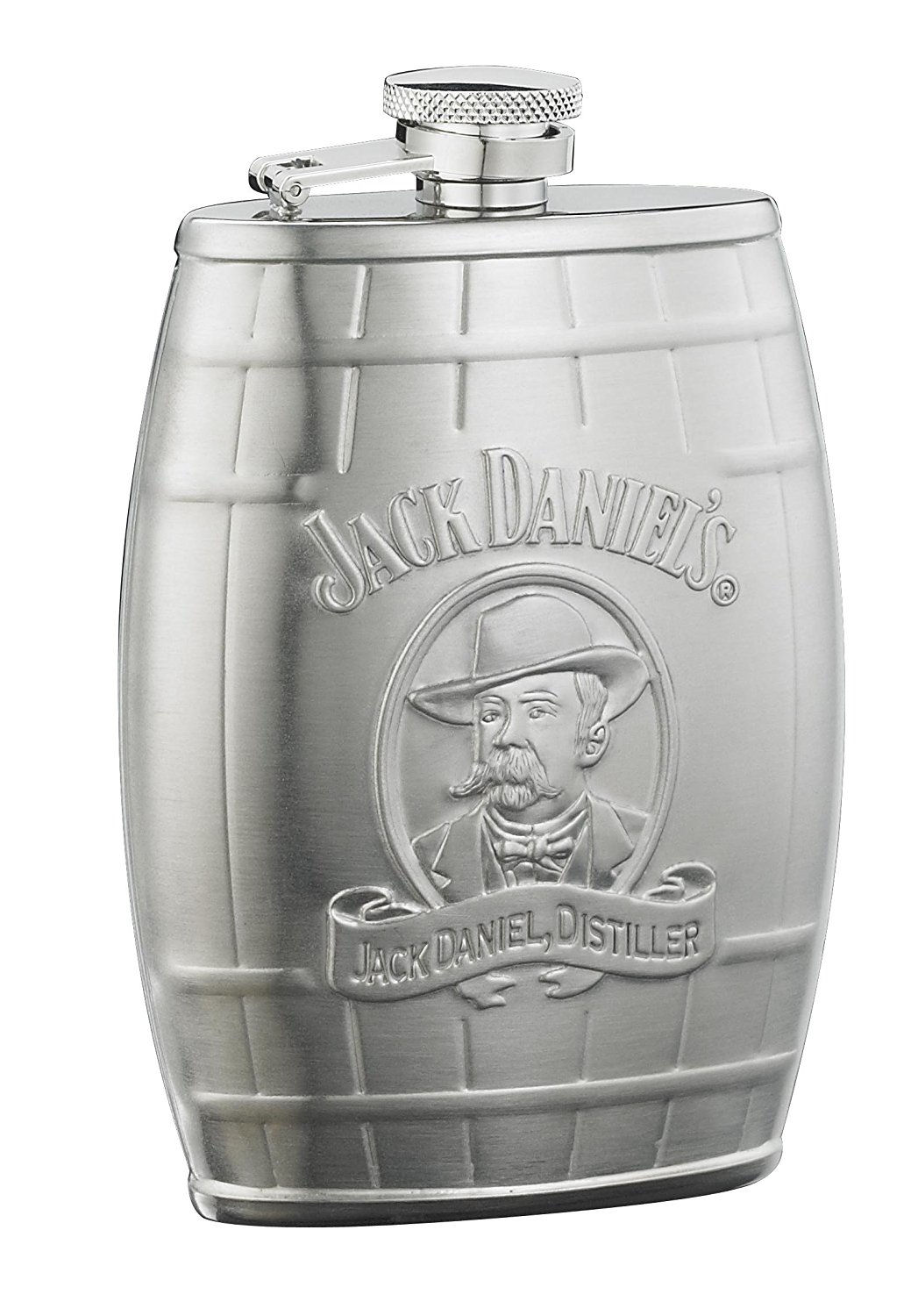 Jack Daniels Cameo 6 Oz. Barrel Flask