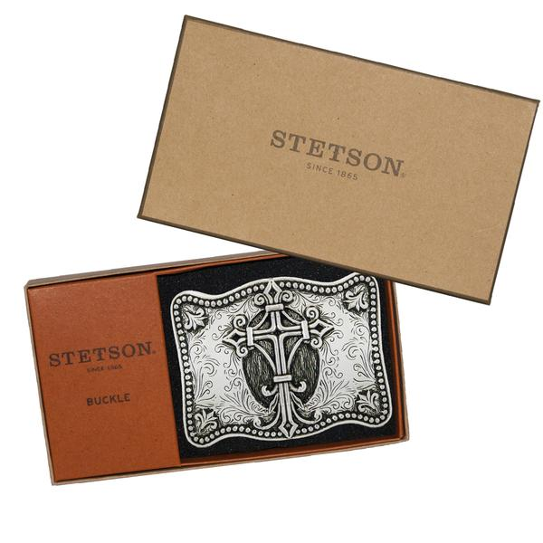 Stetson Silver Plated Promise Buckle