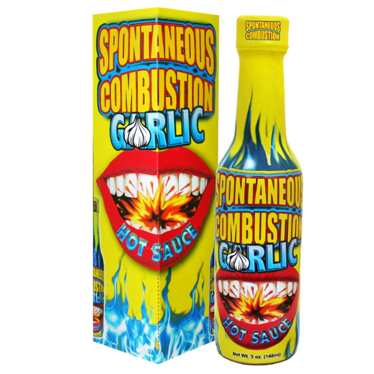 Spontaneous Combustion Garlic Habanero Hot Sauce