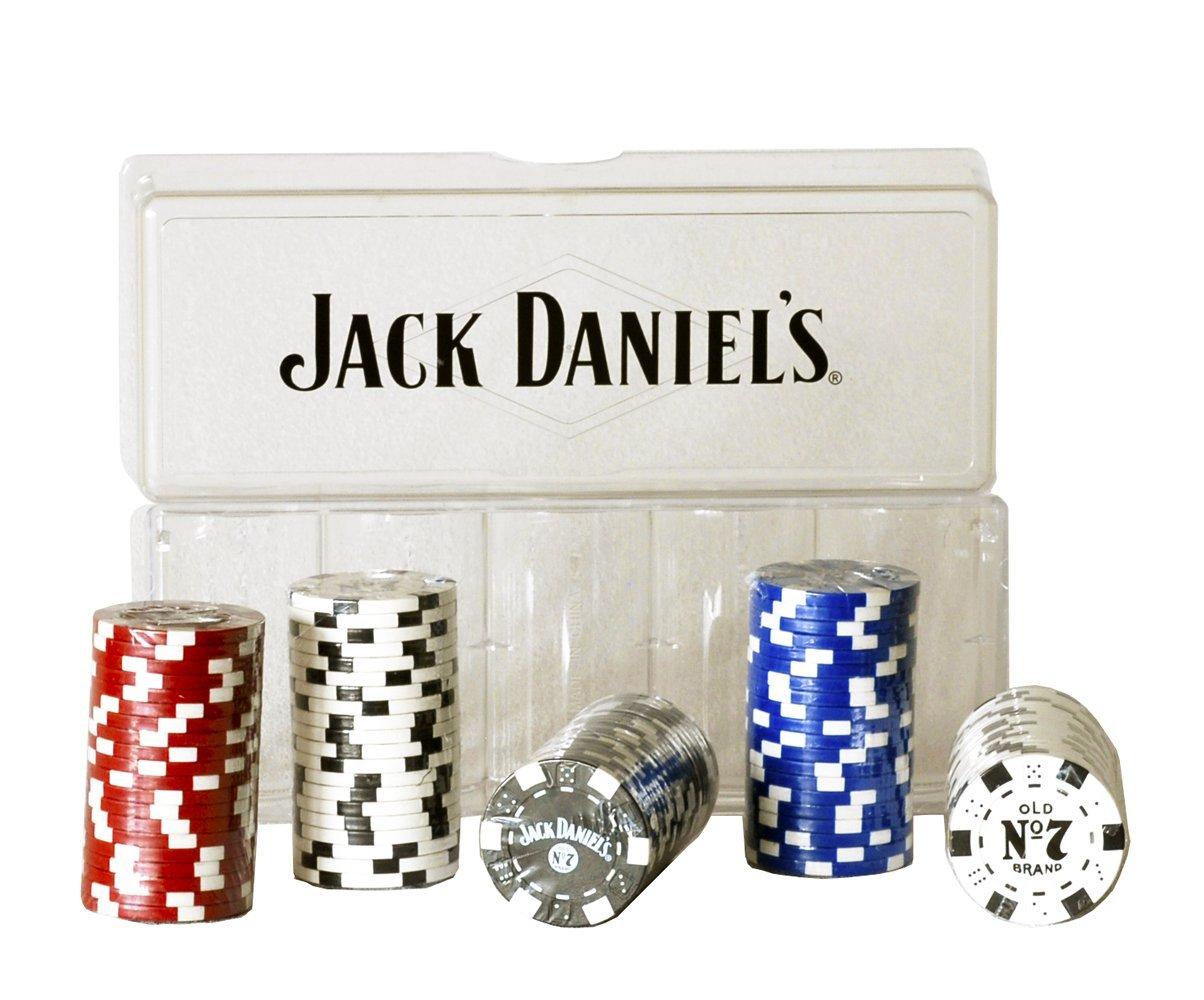 JACK DANIELS POKER CHIPS