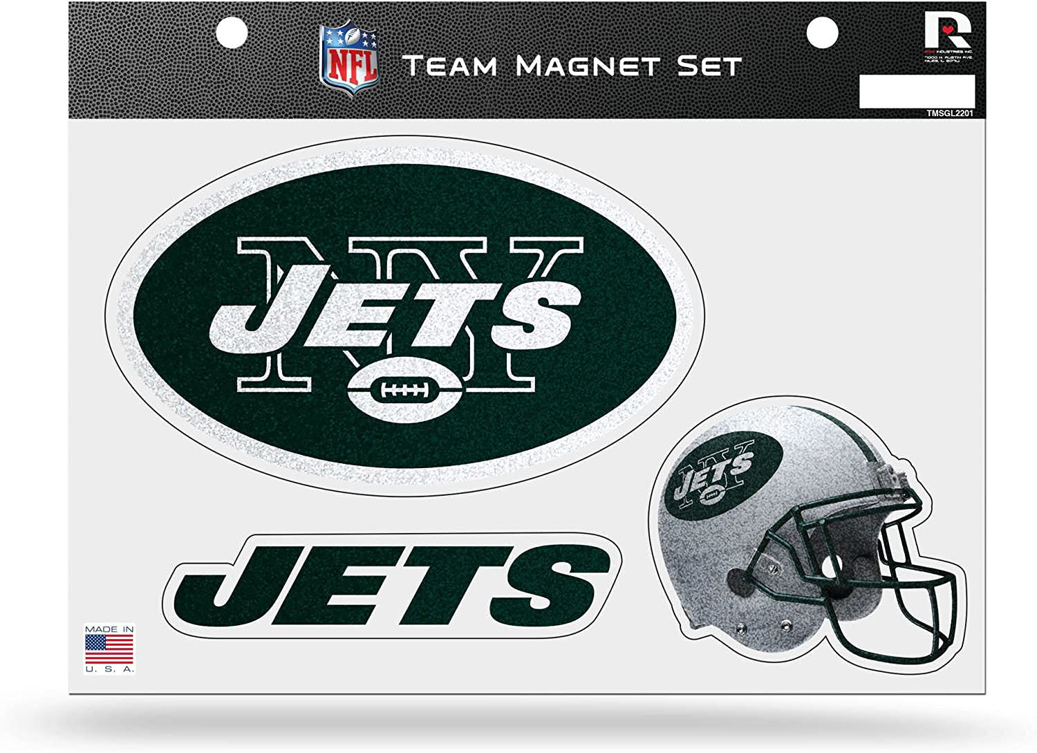 New York Jets Fridge Magnet Set
