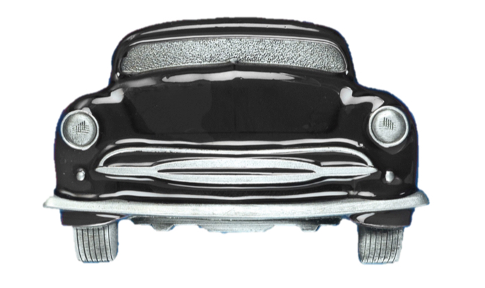 Car Belt Buckle Black