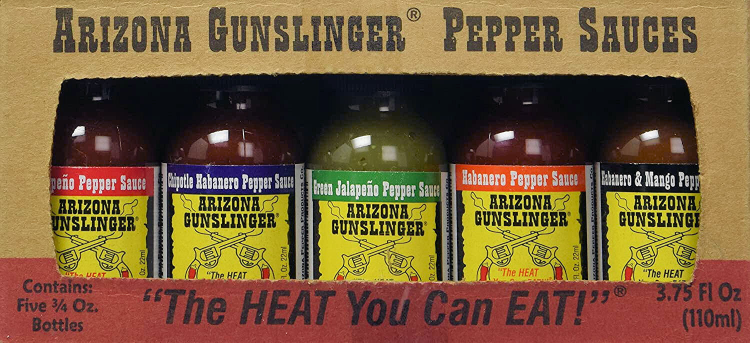 Arizona Gunslinger Pepper Sauce Pack