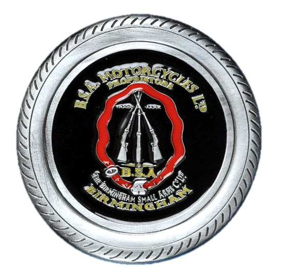 BSA Logo in Tyre Belt Buckle