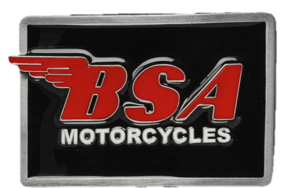 BSA OBLONG / BLACK-RED