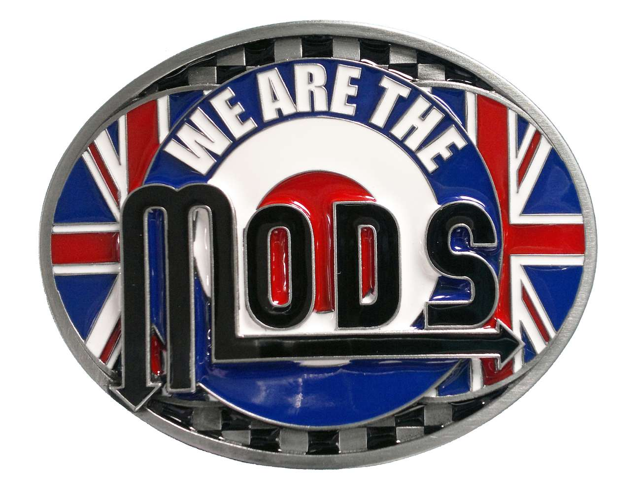 We are The Mods Belt Buckle