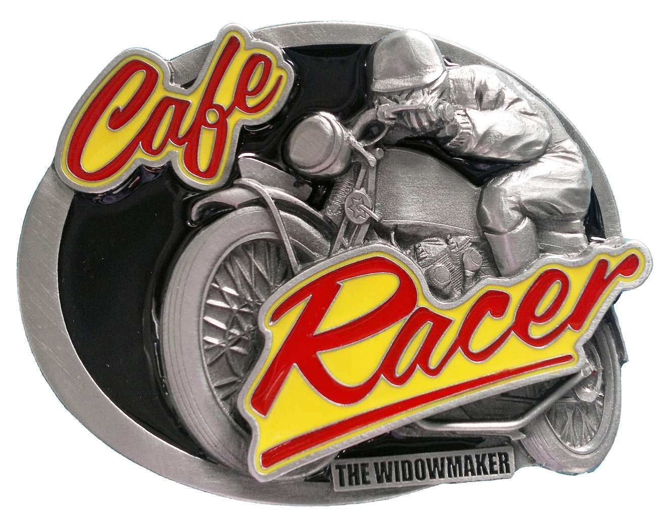 Cafe Racer Vintage Biker Belt Buckle