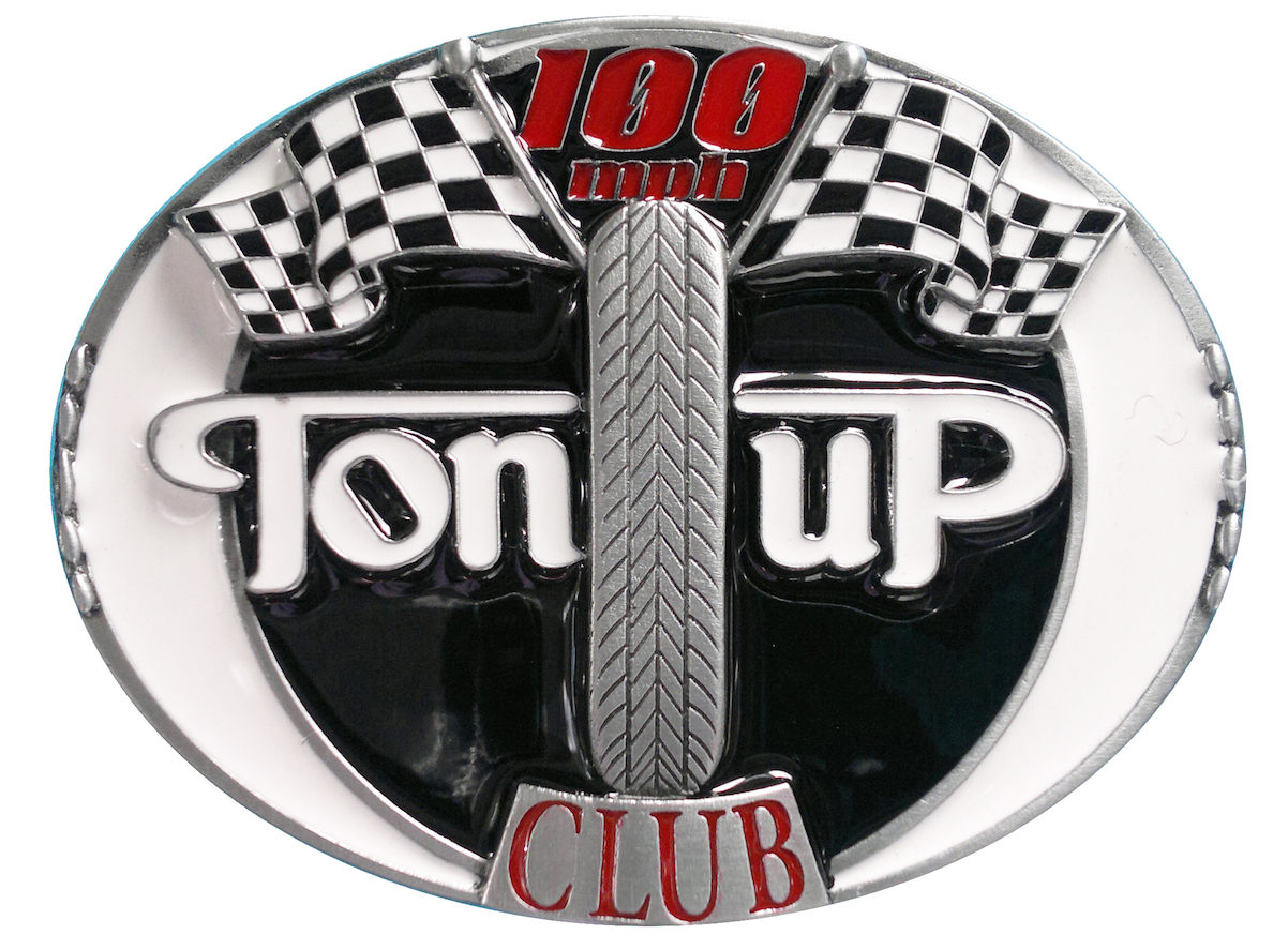 Ton Up Club Belt Buckle