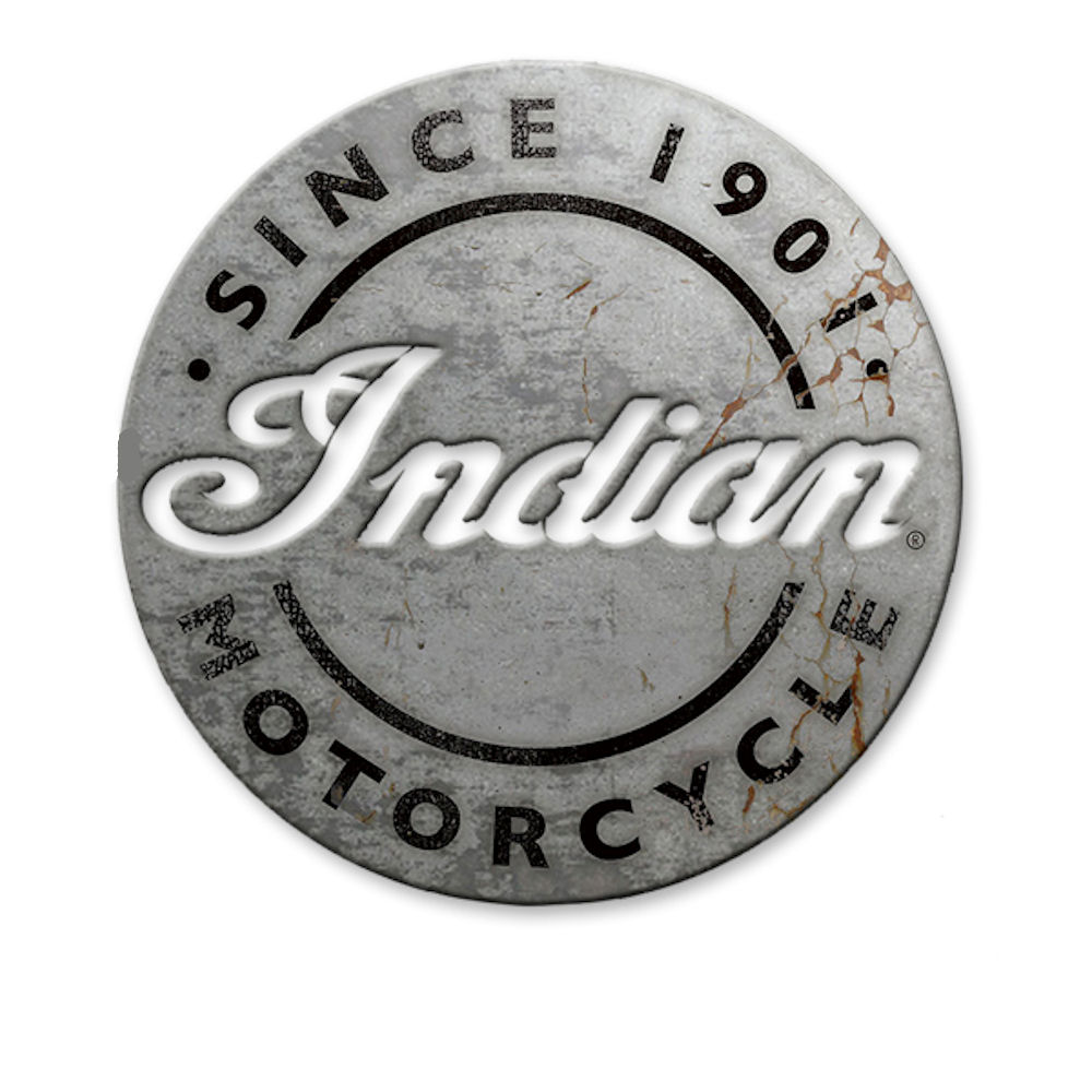 Indian Motorcycles Aluminium Sign
