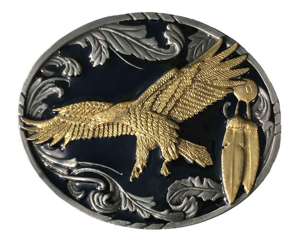 Flying Eagle Black & Gold