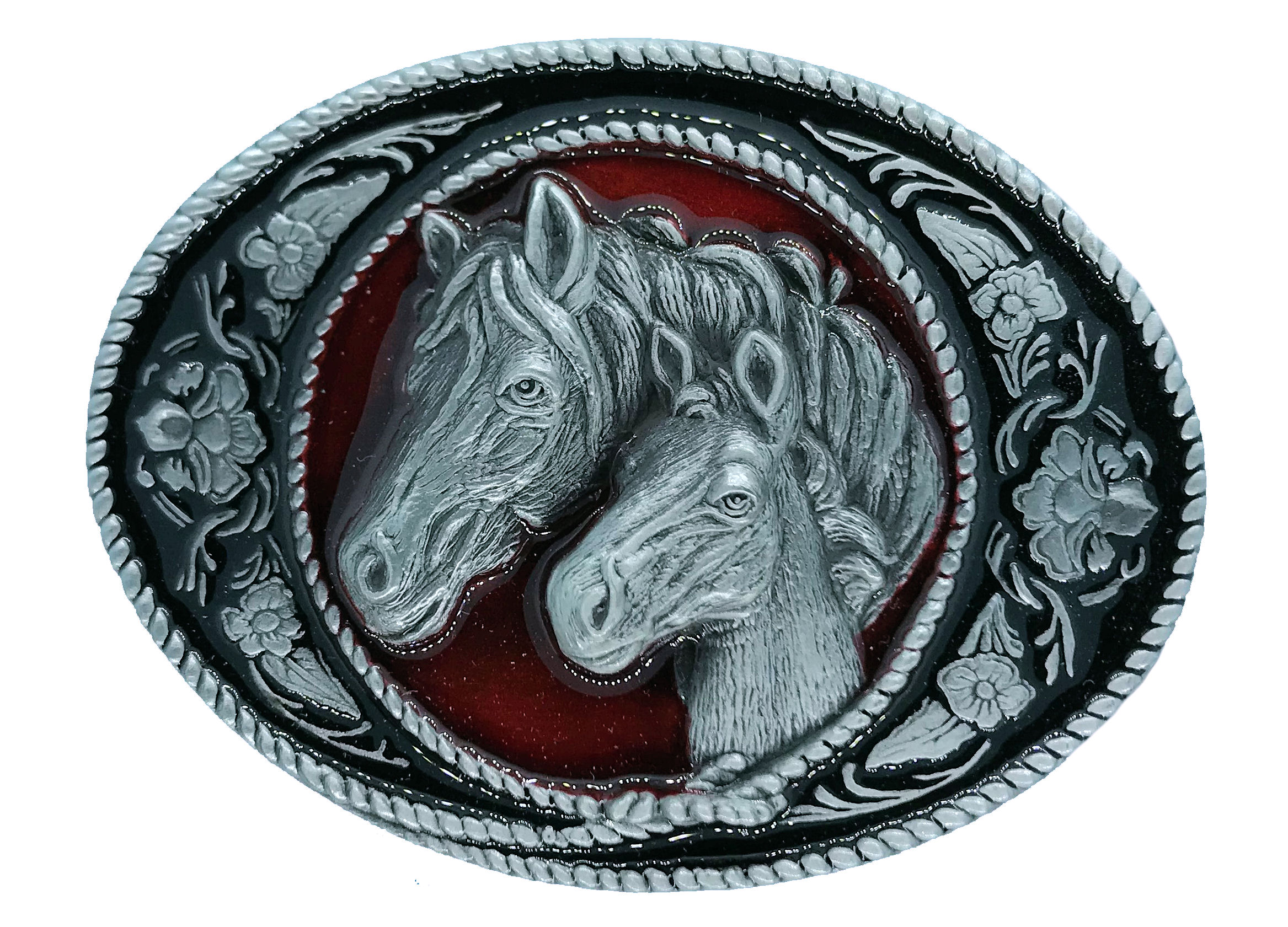 horse (oval)