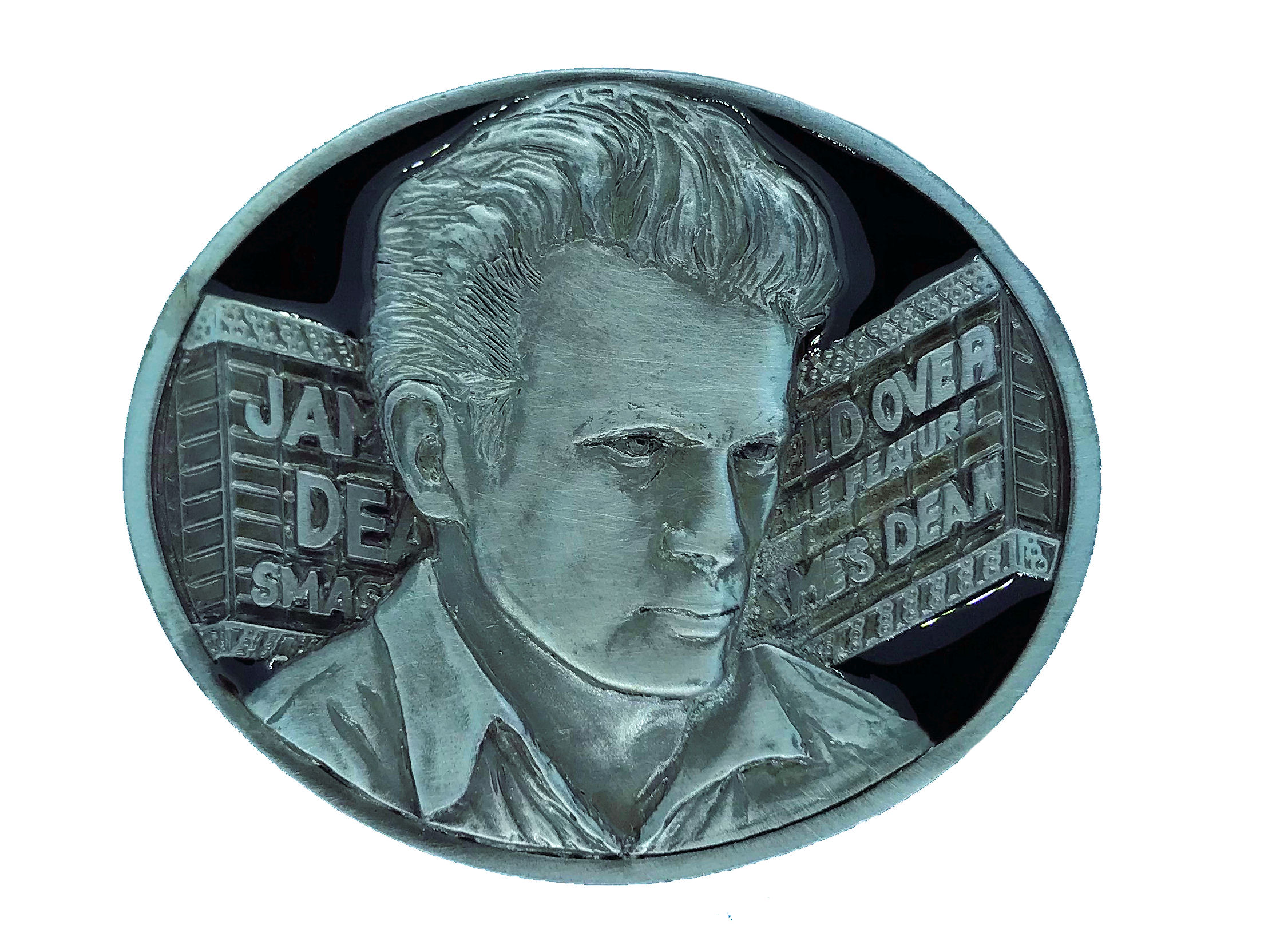 James Dean - Marquee Black Belt Buckle