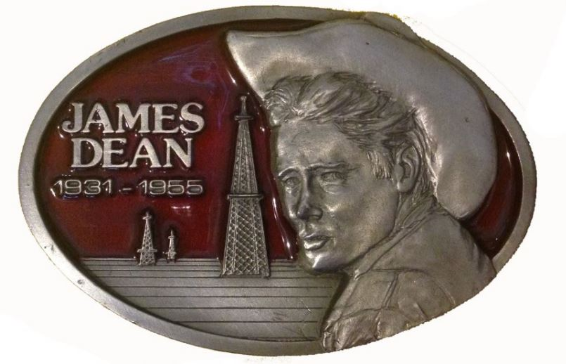 James Dean Oil Well Red