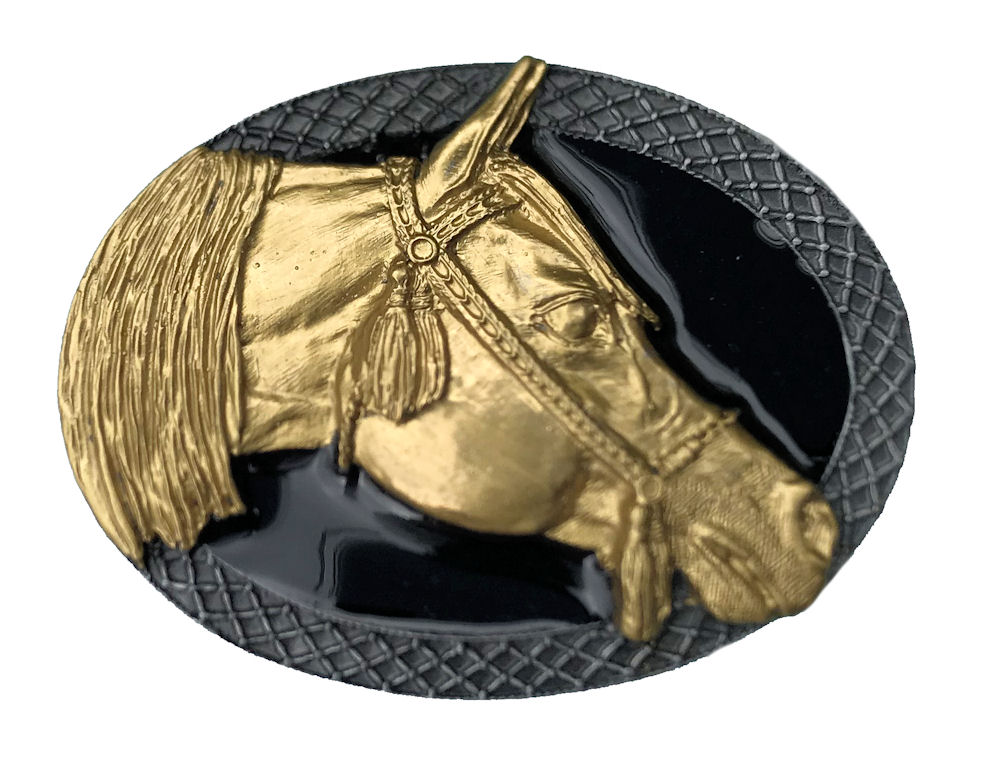 Arabian Horse Black & Gold Edition