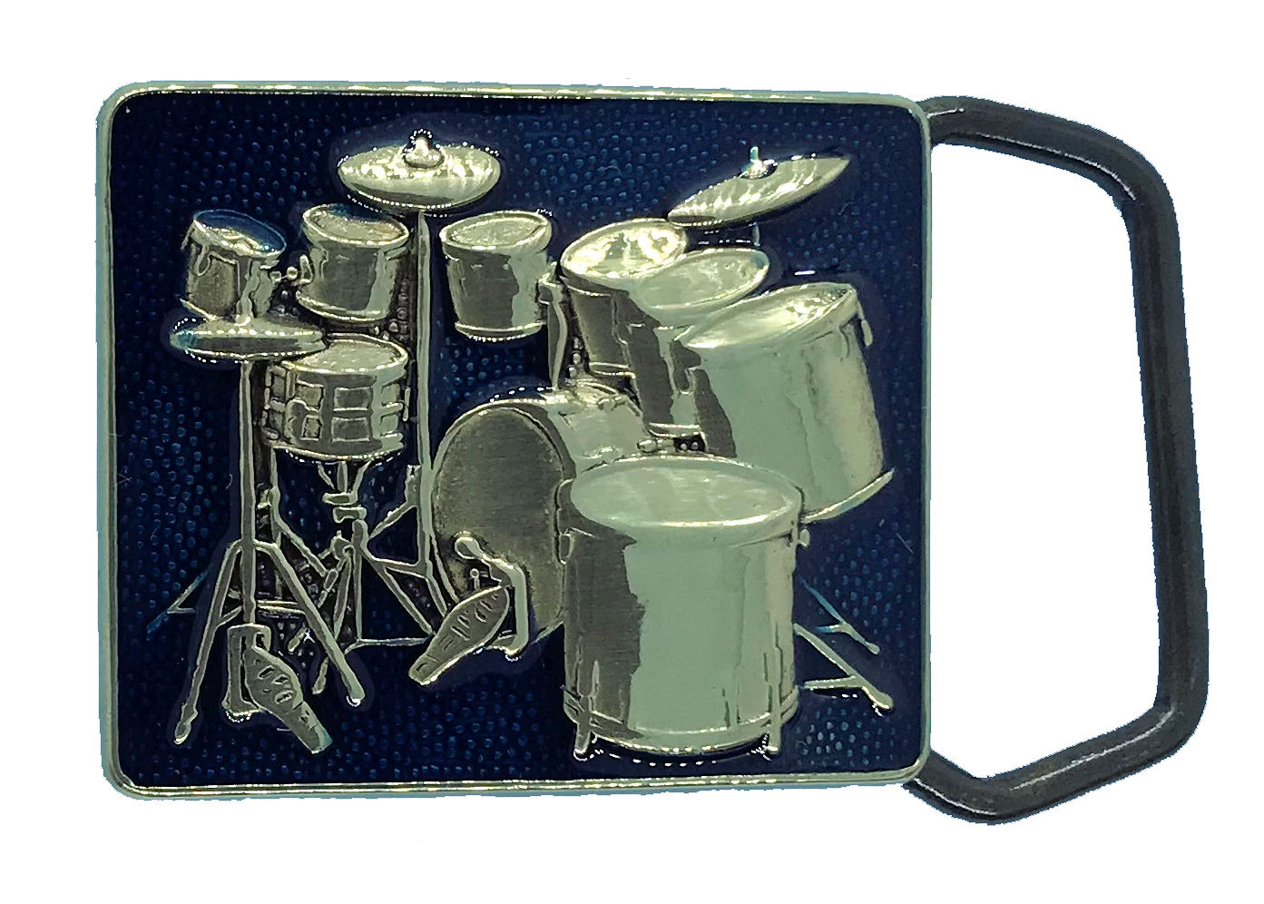 Drums (small drum) Brass Buckle