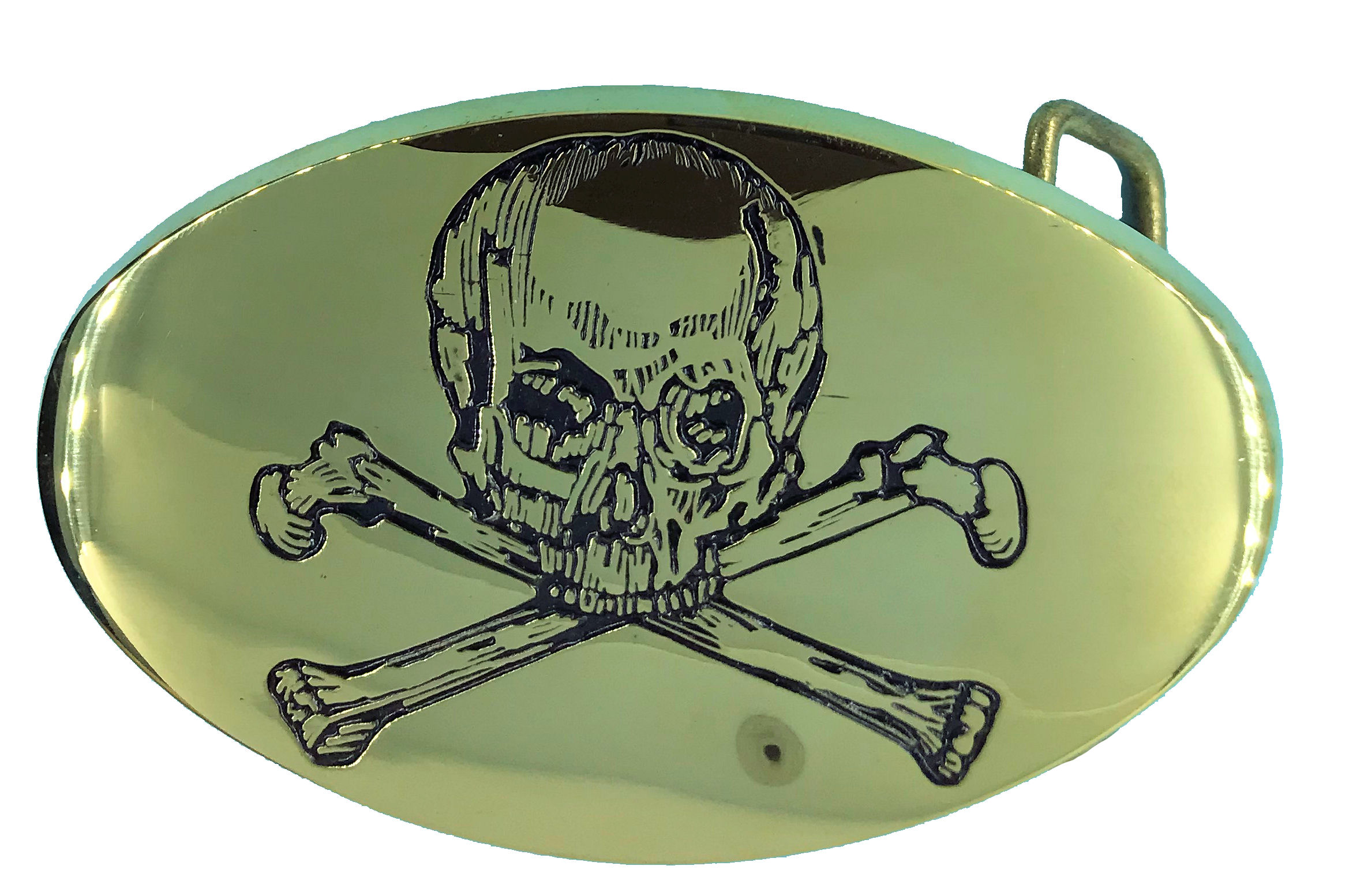 skull and bones oval
