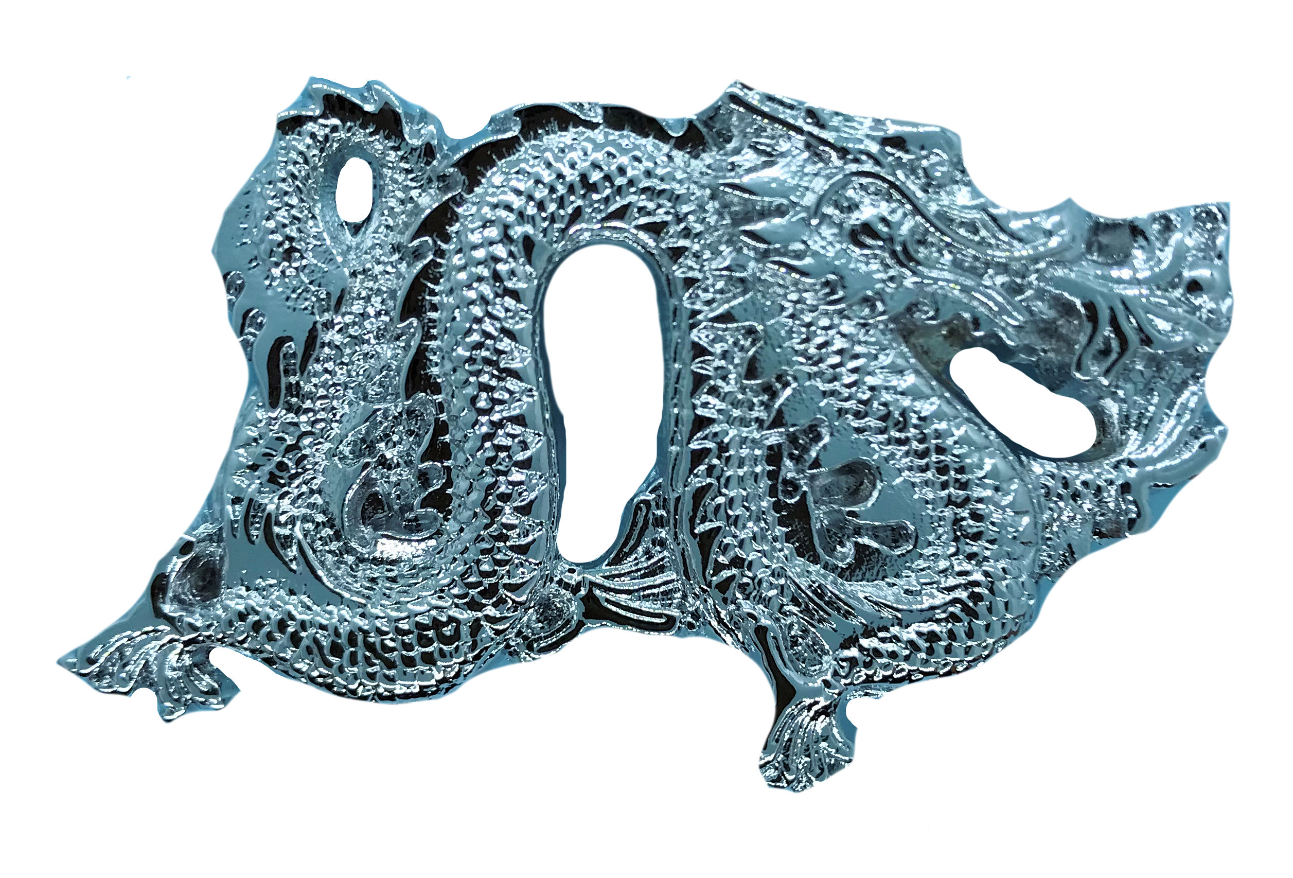 Dragon (cp) Belt Buckle