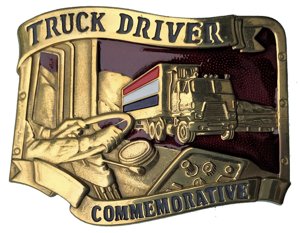 Truck Driver Red