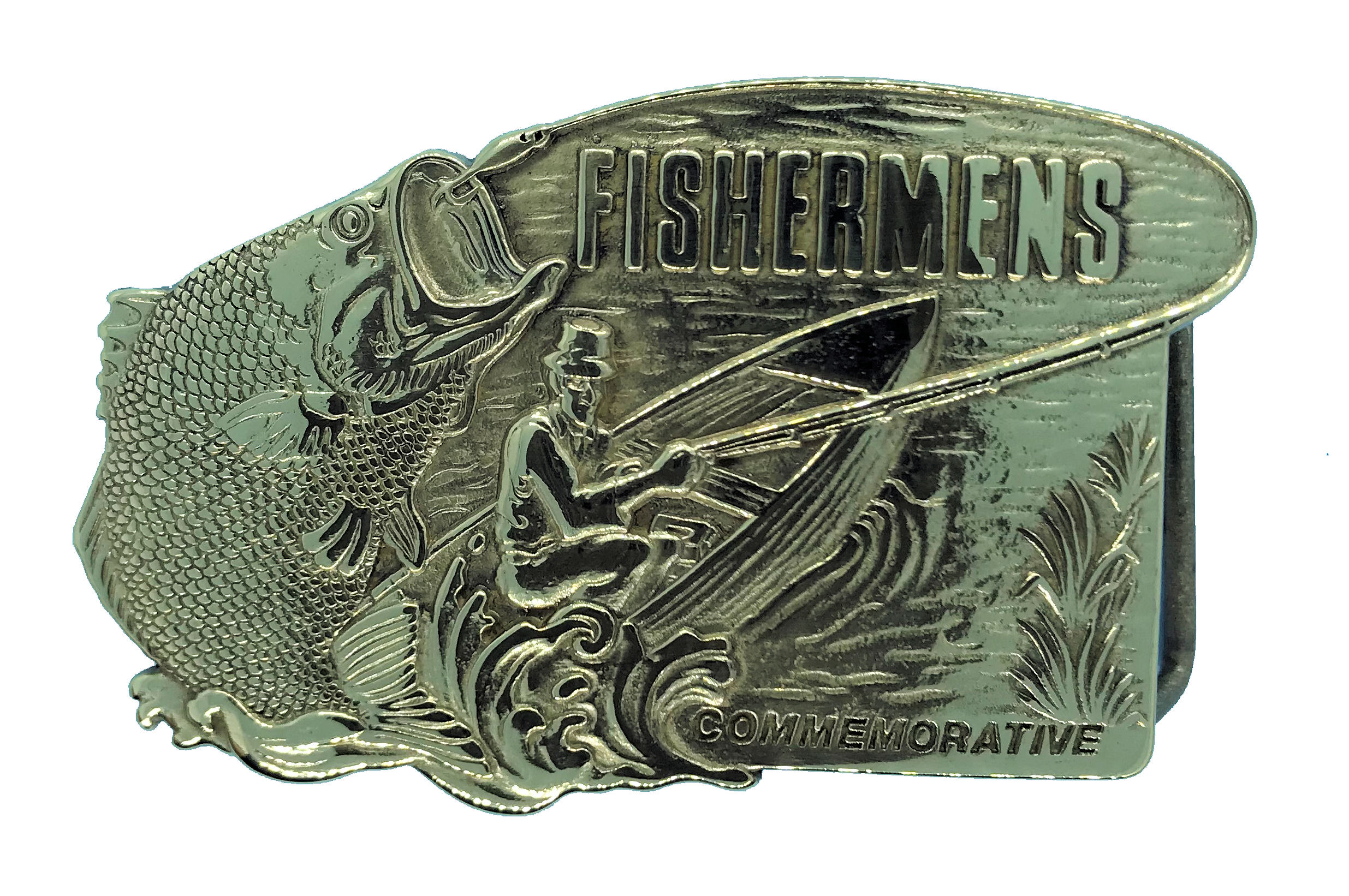 commemorative fisherman