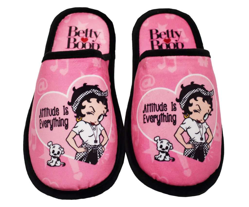 Betty Boop Slippers - Attitude is Everything