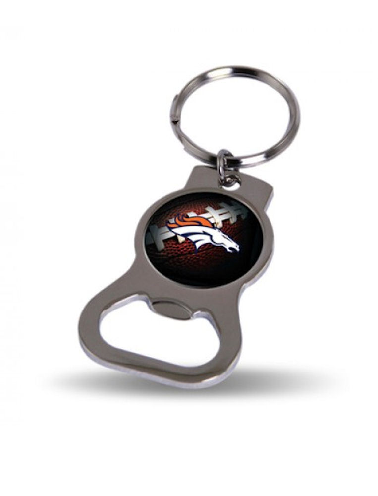 Denver Broncos Official NFL Keychain - Bottle Opener