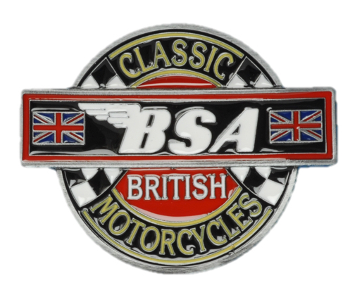 BSA Classic Motorcycles Belt Buckle