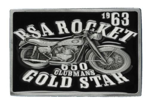 BSA Gold Star Black Belt Buckle