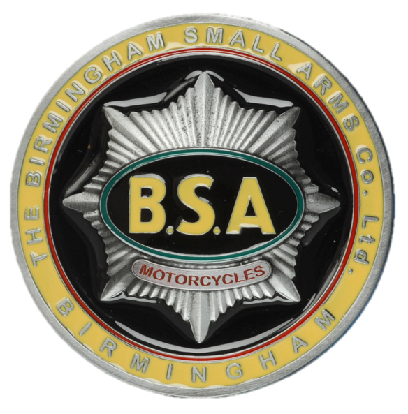 BSA Gold Star Tank Badge Belt Buckle