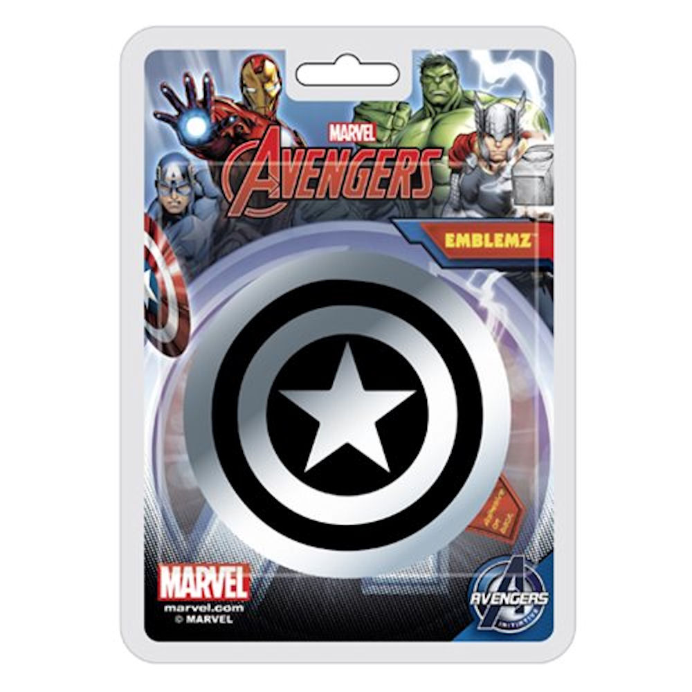 Captain America Injection Moulded Colour Emblem