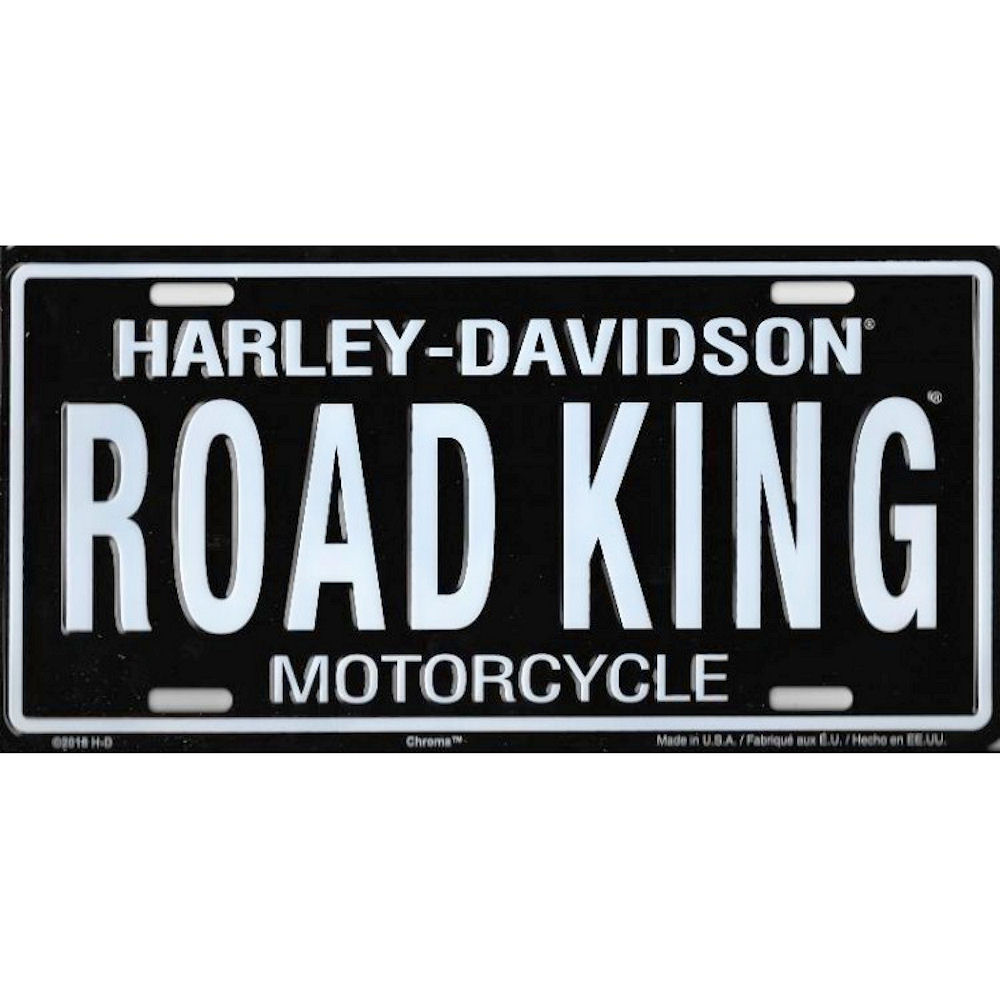 HARLEY-DAVIDSON Road King License Plate